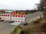 Frog barricade... well human barricade.
