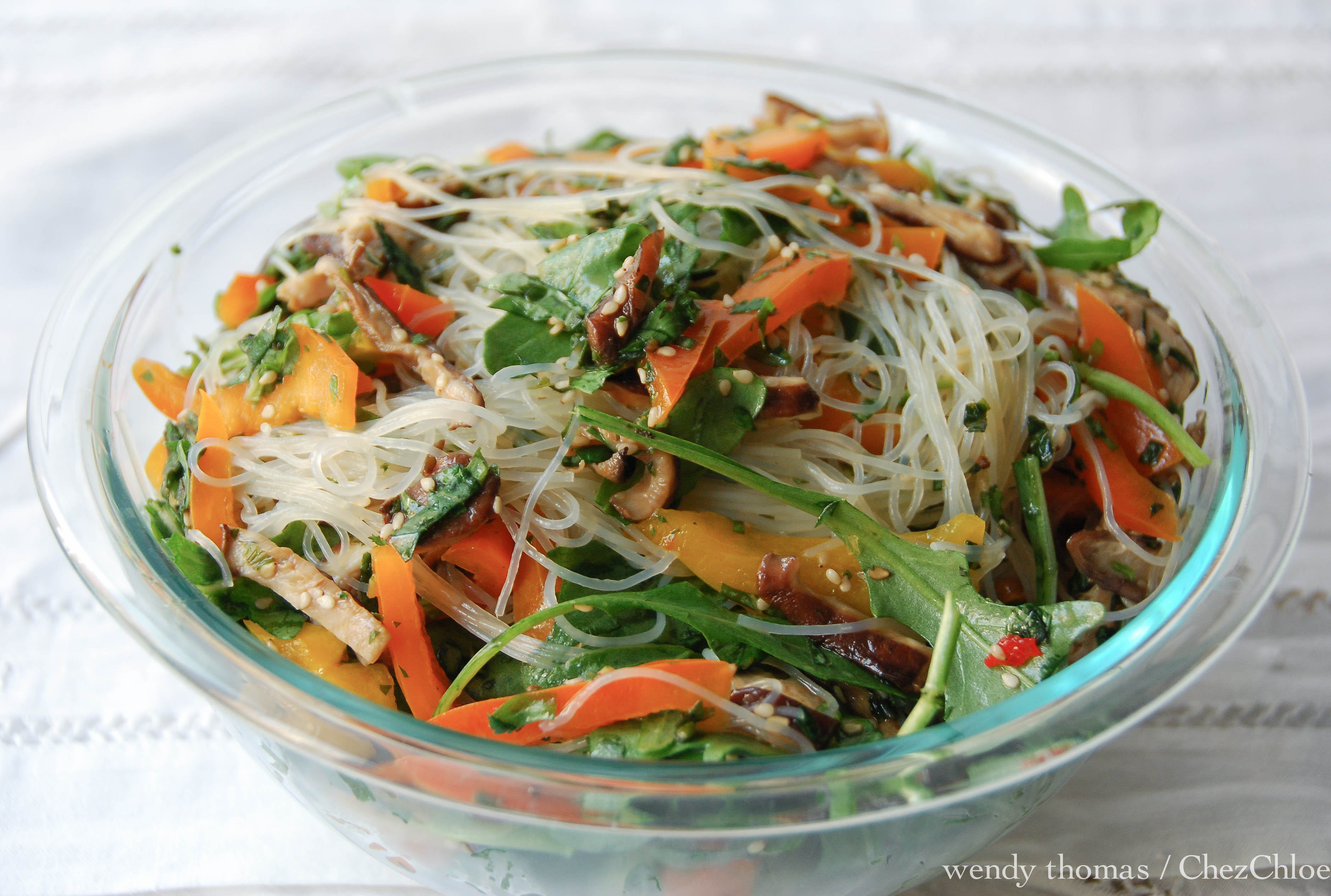 Cellophane Noodles With Pork And Thai Basil