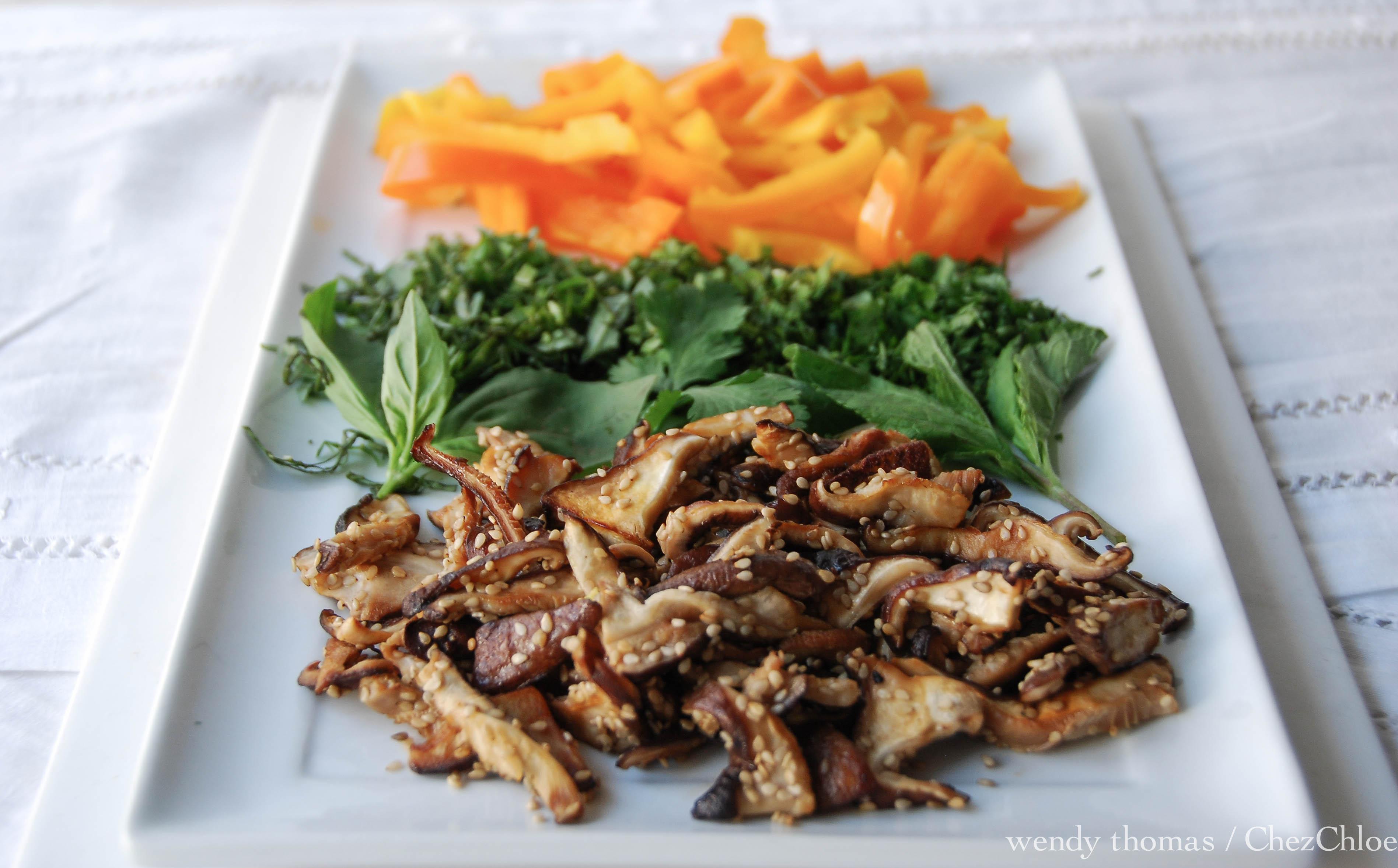 sesame and cilantro vermicelli sesame seeds cilantro vermicelli salad ...