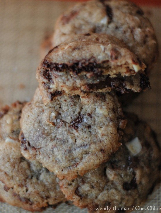 Salted Almond Choc chip cookies-2