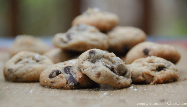 Salted Almond Choc chip cookies-4