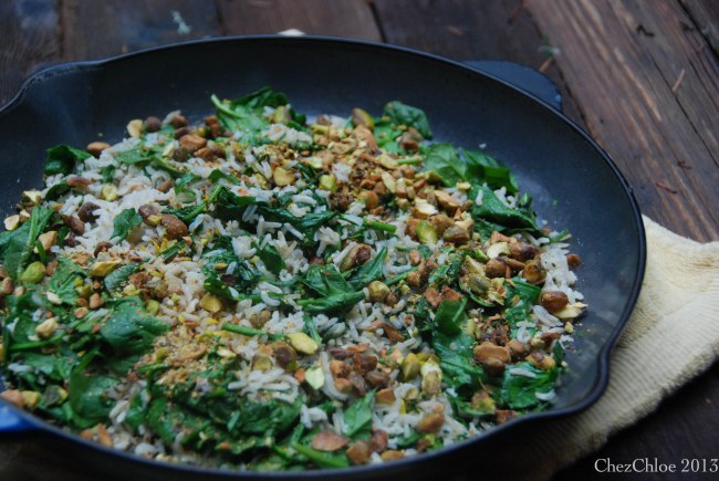 Rice and spinach salad-5