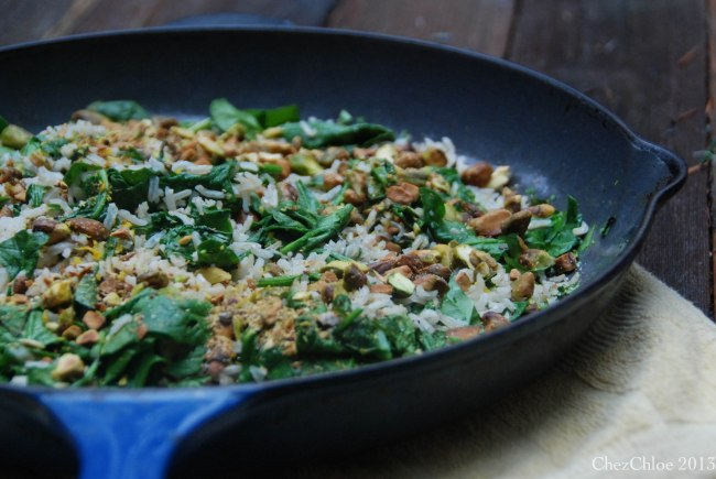 Rice and spinach salad-6