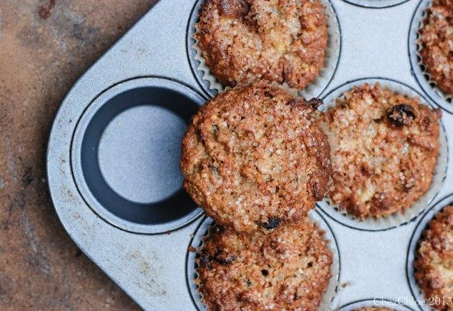 Morning Glory Muffins Gluten free-8