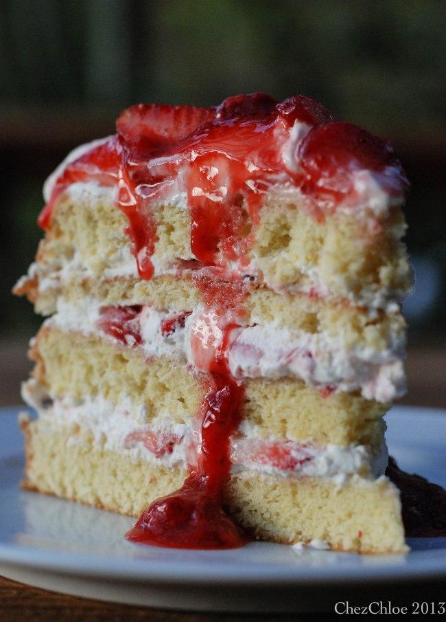 Strawberry cake-12
