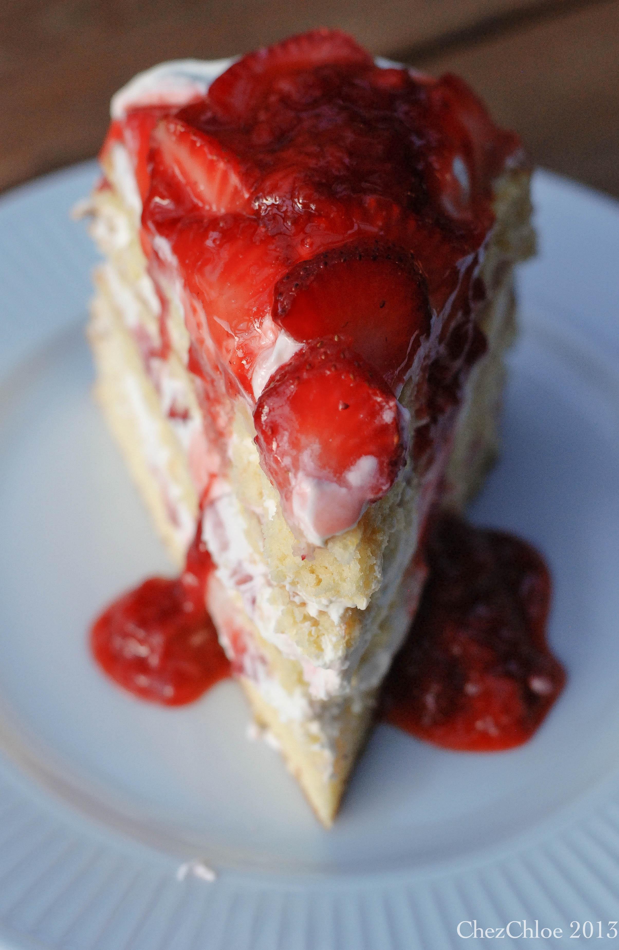 Strawberry Shortcake Cake Again 171 Wendy S Place