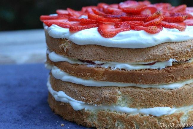 Strawberry cake-7