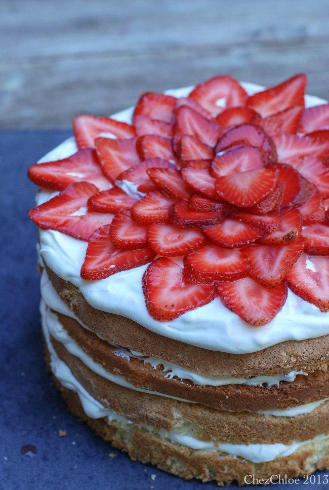 Strawberry cake-8