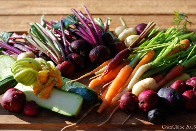 Harvest dinner 7-7-2013-3
