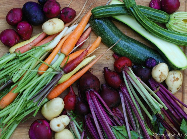 Harvest dinner 7-7-2013-4