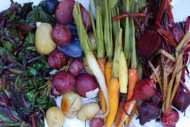Harvest dinner 7-7-2013-8