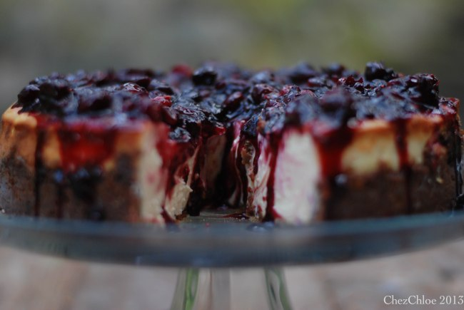 Cranberry cheesecake ginger crust-10