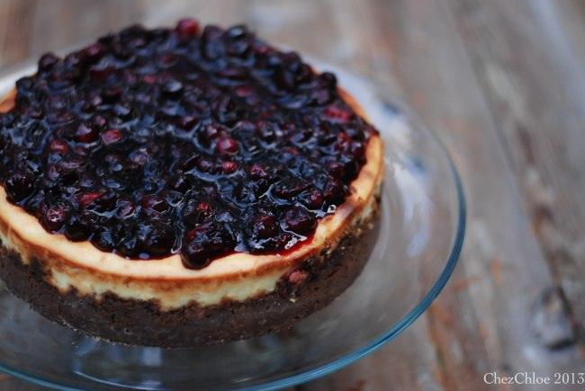 Cranberry cheesecake ginger crust-8