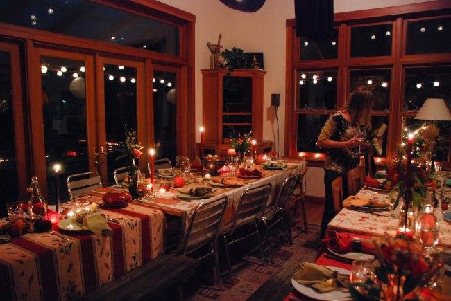 Thanksgiving dinner 2014-2
