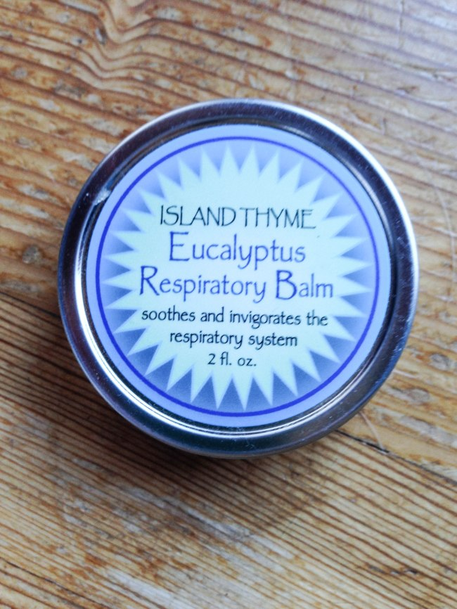 Island Thyme respitory balm