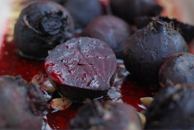 Roasted beet soup-2