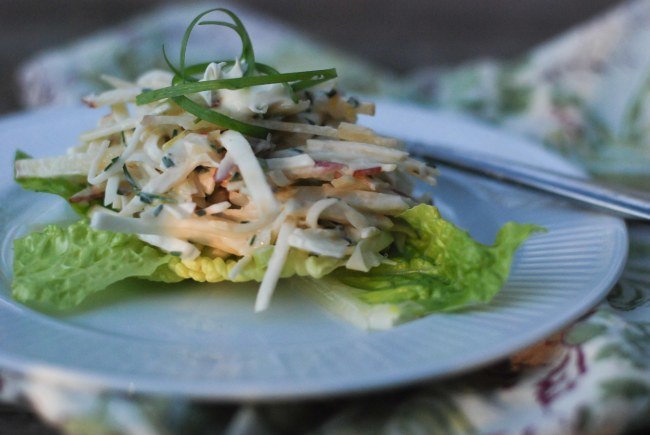 apple and celeriac salad